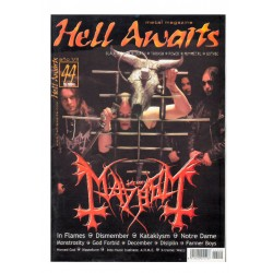 REVISTA HELL AWAITS Nº44