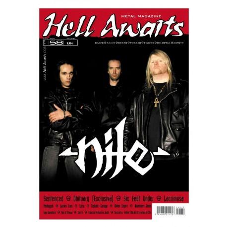 REVISTA HELL AWAITS Nº58
