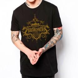 Camiseta Negra BLAZEMTH (logo dorado) SOLO EN PRE-ORDERS
