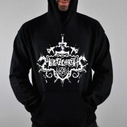 Sudadera Negra BLAZEMTH (logo blanco)