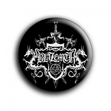 Chapa BLAZEMTH (Logo blanco)