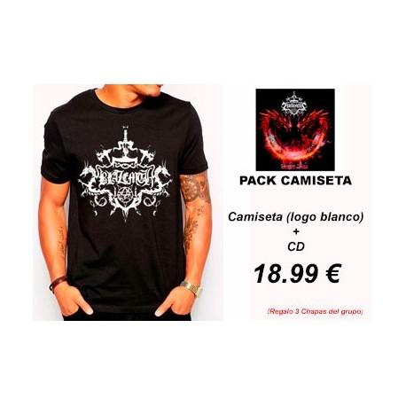 BLAZEMTH - Dragon Blaze - Pack Camiseta(logo blanco) + CD PRE-ORDER