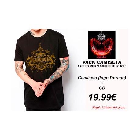 BLAZEMTH - Dragon Blaze - Pack Camiseta (logo dorado) + CD PRE-ORDER