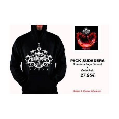 BLAZEMTH - Dragon Blaze - Pack Sudadera (logo blanco) + Vinilo Rojo PRE-ORDER