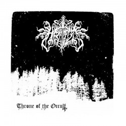 "HRIZG ‎– Throne Of The Occult 7"" EP"