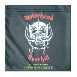 MOTÖRHEAD - Overkill (Exclusive Version) Etched, Ed.limitada, Rojo 7""