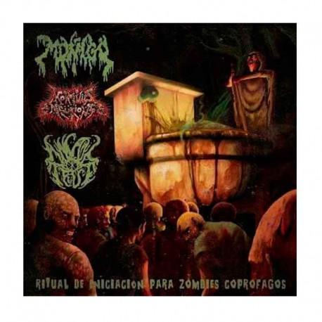 MOÑIGO, MORTUUS NEURONS, ANAL TRUE - Ritual De Iniciacion Para Zombies Coprofagos CD