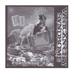 "VATICAN-CITY SYNDROME/AGATHOCLES - Entartete Kunst - EP / Yukmouth Rises Again 7"" EP"