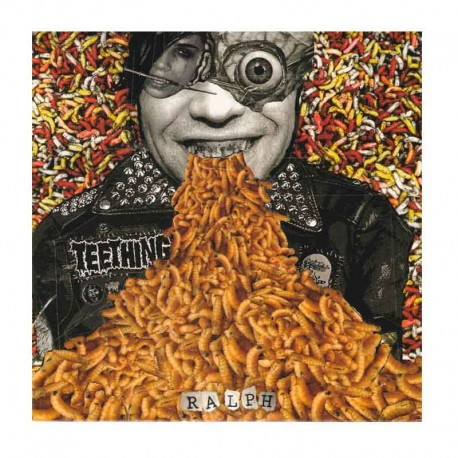 "TEETHING - Ralph  7"" Single Sided, EP, Etched"