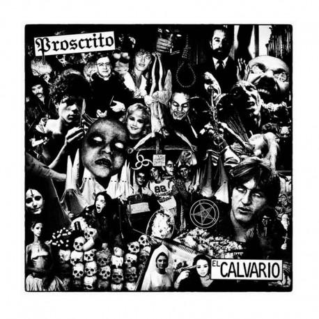 Proscrito - El Calvario LP Mini Album Lmt Ed. Vinilo Blanco