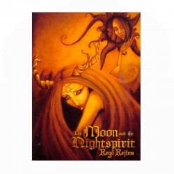 THE MOON NIGHTSPIRIT - Regö Rejtem - CD Digibook A5