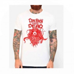 Camiseta Blanca COME BACK FROM THE DEAD