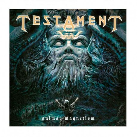 "TESTAMENT - Animal Magnetism  7"" ED. LIMITADA RED"