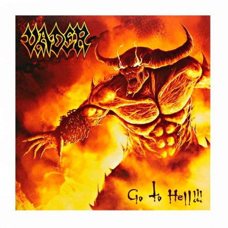 VADER - Go to Hell !!! 7""
