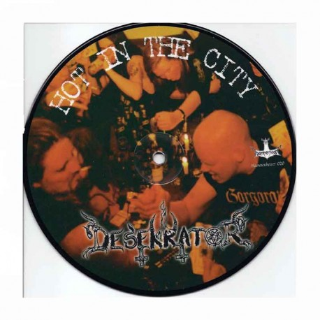 """DESEKRATOR – Hot In The City  7"""" Picture Disc"""