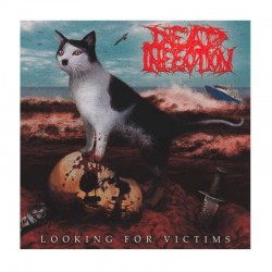 """DEAD INFECTION/PARRICIDE - Looking For Victims / The Idealist 7""""  EP, Blue"""