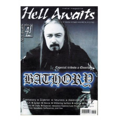 REVISTA HELL AWAITS Nº48