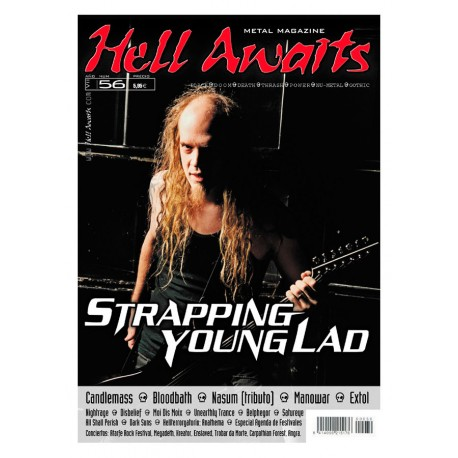 REVISTA HELL AWAITS Nº56