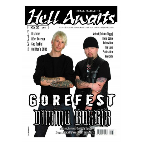 REVISTA HELL AWAITS Nº62