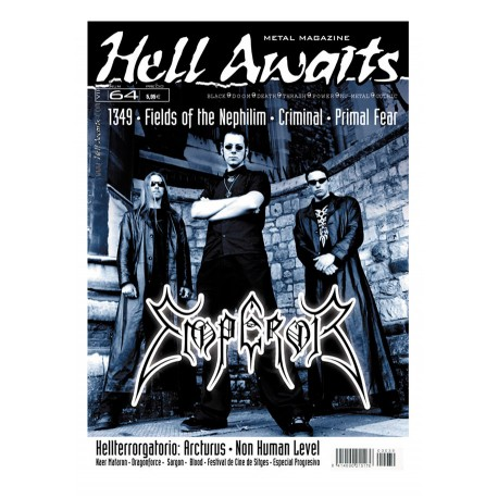 REVISTA HELL AWAITS Nº64
