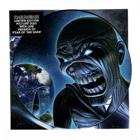 """IRON MAIDEN – Different World 7"""" PICTURE DISC"""