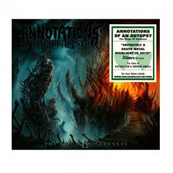 ANNOTATIONS OF AN AUTOPSY - The Reign Of Darkness CD (Slipcase)