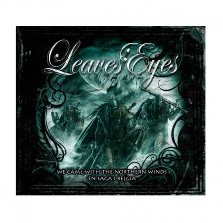LEAVES' EYES - We Came With The Northern Winds  CD BOX  (Digipak 2-CD + 2-DVD)