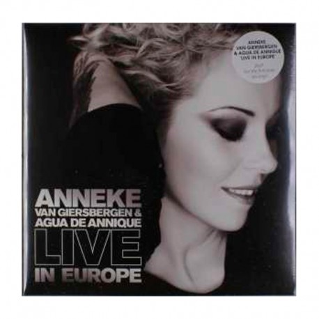 ANNEKE VAN GIERSBERGEN & AGUA DE ANNIQUE - Live In Europe 2LP 12""
