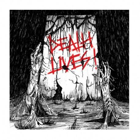 VARIOS - Death Lives!  LP Compilación