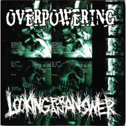 """LOOKING FOR AN ANSWER/OVERPOWERING - Looking For An Answer-Overpowering 7"""""""