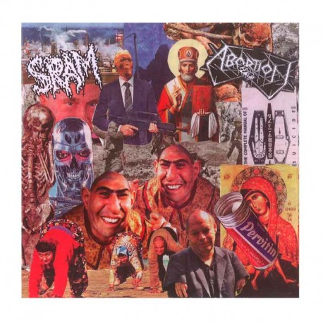 "SRAM/ABORTION  7"" EP"