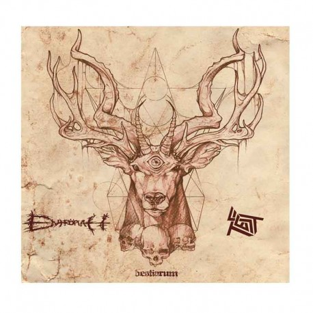 "ENTROPIAH/TEST - Bestiarum Split  7"""