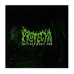 PROFECYA - The End Starts Now CD EP