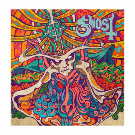 """GHOST– Seven Inches Of Satanic Panic  7"""" EP"""