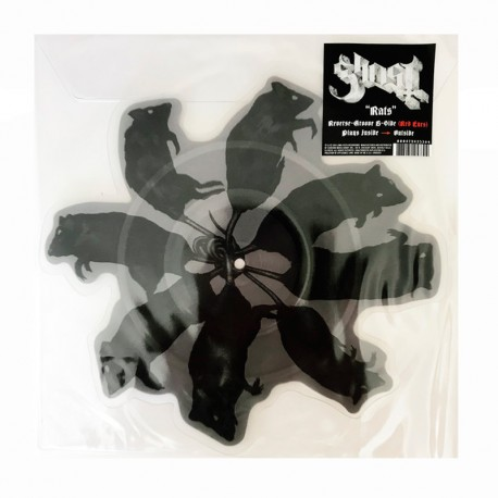 """GHOST– Rats 7"""" Shape Picture Disc"""