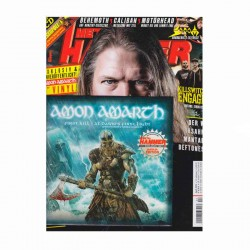 "AMON AMARTH - First Kill / At Dawn's First Light 7"" + Revista Metal Hammer"