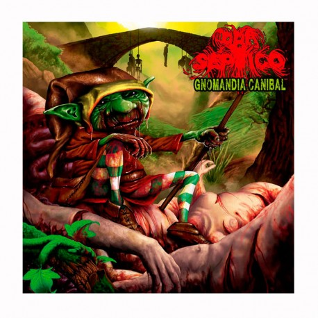 PRO SEPTICO/WHIRLPOOL OF BLOOD - Gnomandia Caníbal / Oscuro Y Maldito 12""