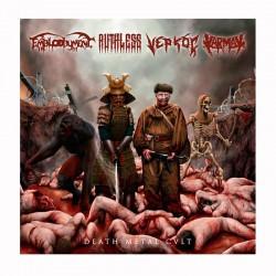 KARMAK/EMBLOODYMENT/RUTHLESS/VEPOÇ - Death metal Cult LP