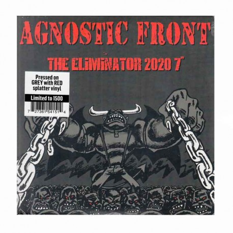 "AGNOSTIC FRONT - The Eliminator 2020 7"" + Figura"