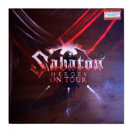 SABATON - Heroes On Tour CD BOX (CD + 2 DVD + 2 BLU-RAYS) Earbook