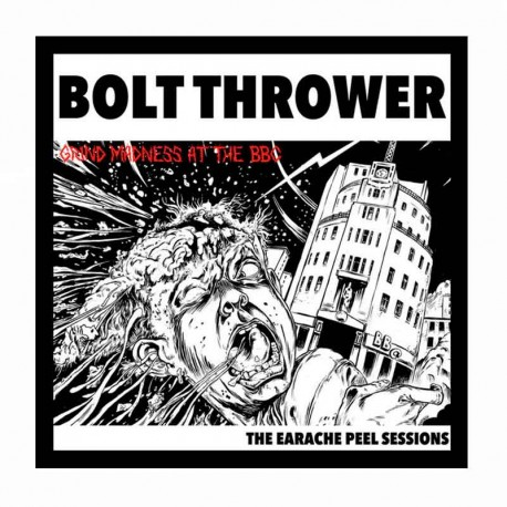 BOLT THROWER - Grind Madness At The BBC - The Earache Peel Sessiaons LP Red Ed. Limitada