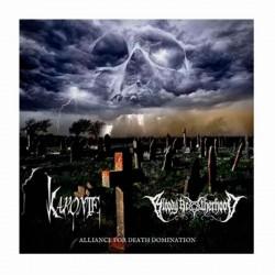 "KARONTE/BLOODY BROTHERHOOD - Alliance For Death Domination 10"" Ed. Limitada + CD + Digital Down."