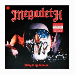 MEGADETH - Killing Is My Business...And Business Is Good! LP Rojo