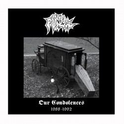 OLD FUNERAL - Our Condolences 1988-1992 2LP Picture Disc Ed. Ltd.