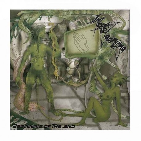 INTENSE AGONIZING - Beginning Of The End CD