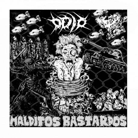 ODIO - Malditos Bastardos CD