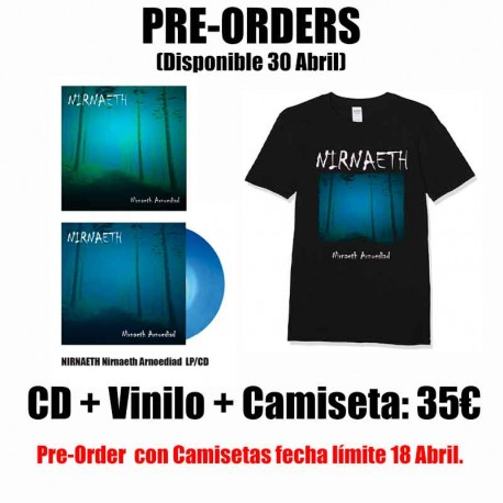 NIRNAETH VINYL + CD + T-Shirt (PRE ORDER)