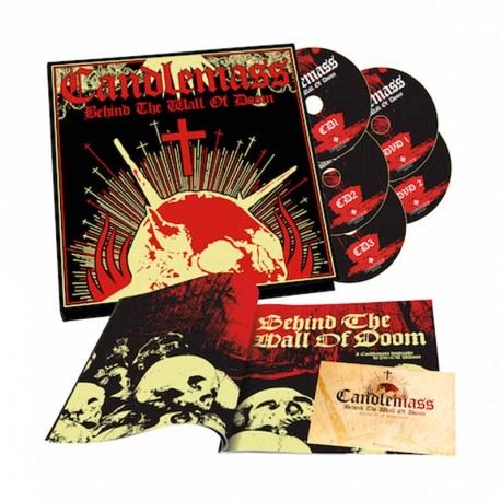 CANDLEMASS-Behind The Wall Of Doom (3CD+2DVD+LIBRO)