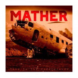 MATHER - This Is The Underground LP Red & Black Vinyl Marbled, Ltd. Ed. Hand-numbered