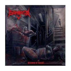 GORGASM - Destined To Violate LP Bllod Red Transparebt Vinyl, Ltd. Ed. Hand-Numberedada